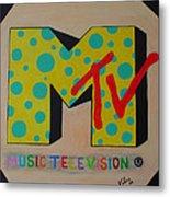 Generation Mtv Metal Print