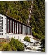 Generator House Of Hydro-electric Power Plant Metal Print