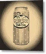 Genesee Bock Beer Metal Print