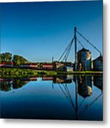 Genesee Mill Metal Print by Randy Scherkenbach
