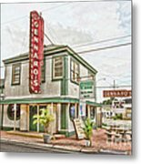 Gennaro's Metal Print by Scott Pellegrin