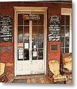 Genoa Saloon Oldest Saloon In Nevada Metal Print