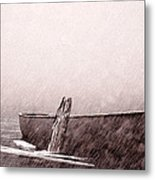 Gentle Current Metal Print