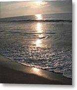 Ocean - Gentle Morning Waves Metal Print