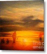 Gentle Sunset Vision Metal Print