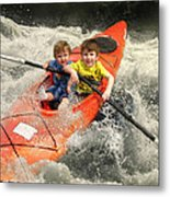 ......gently Down The Stream... Metal Print