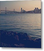 Gently The Evening Comes Metal Print