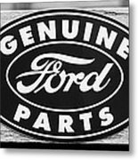 Genuine Ford Parts Sign Metal Print