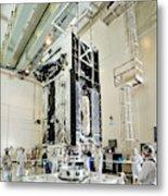 Geo-1 Satellite In Lab Metal Print