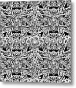 Geo Tech Alpha One Metal Print by Pixel Chemist