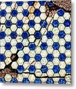 Geographic Tile Metal Print