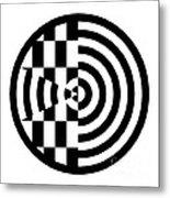 Geomentric Circle 3 Metal Print