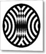 Geomentric Circle 4 Metal Print