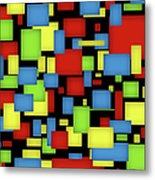 Geometric Art Metal Print