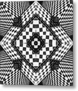 Geometric Progression Metal Print