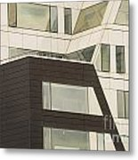 Geometric Shapes In Architecture Metal Print