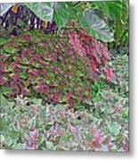 Geometric Shapes Of Nature Metal Print