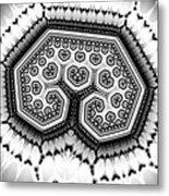 Geometric Tree No. 4 Metal Print