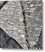 Geometry At The Abbey Metal Print