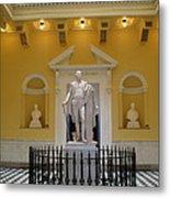 Georg Washington Statue - Capitol Richmond Metal Print
