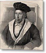 Georg Wilhelm Friedrich Hegel Metal Print