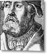Georg Witzel (1501-1573) Metal Print