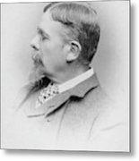 George Du Maurier (1834-1896) Metal Print
