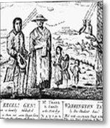George IIi Cartoon, 1779 Metal Print