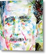 George Orwell Metal Print