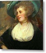 George Romney, British 1734-1802, Lady Arabella Ward Metal Print