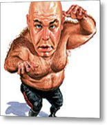 George The Animal Steele Metal Print by Art