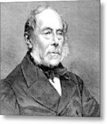 George Villers (1800-1870) Metal Print