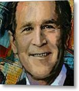 George W. Bush Metal Print