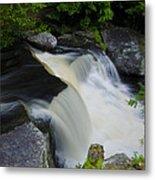 George W Childs Park Waterfall Metal Print