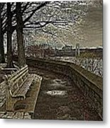 George Washington Bridge From Fort Tryon Metal Print