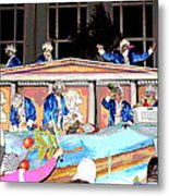 George Washington Float Side View Metal Print