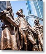 George Washington-robert Morris-hyam Salomon Memorial Statue Metal Print