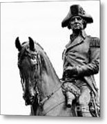 George Washington Statue Boston Ma Metal Print