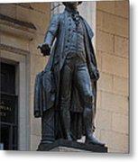 George Washington Statue Metal Print