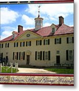 George Washington's Mount Vernon Metal Print