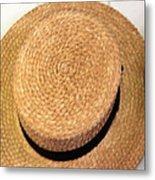 George Wilcox Hat Metal Print