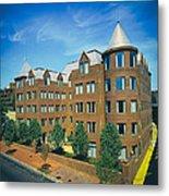 Georgetown Apartments - 1980s Metal Print