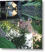 Georgetown Canal Reflections Metal Print