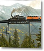 Georgetown Loop Ralroad Metal Print