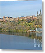 Georgetown University Neighborhood Metal Print by Olivier Le Queinec
