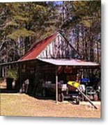 Georgia Barn Metal Print