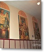 Gerald Mast Murals In Clare Michigan Metal Print