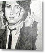 Gerard Way Metal Print