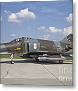 German Air Force F-4f Phantom II Metal Print