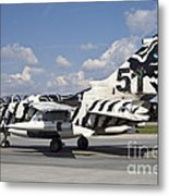 German Air Force Tornado Aircraft Metal Print